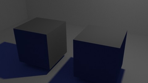 オブジェクトのシャドウ側にも色が着くので、リアリティに勝ります。しかも、レンダー後にいくらでも変更できる。