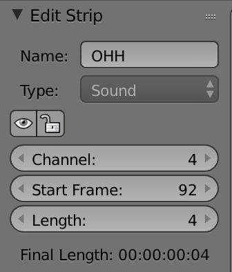 右クリックで調整が効かない場合は、Edit StripのLengthで伸ばせます